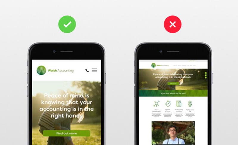 تفاوت نسخه موبایلی و دسکتاپی
