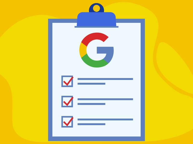 چک لیست سئو گوگل را همیشه همراه خود داشته باشید