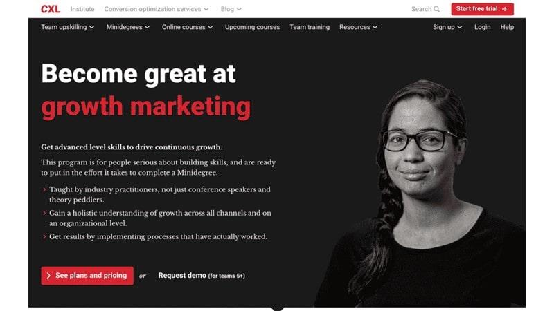 CXL – Growth Marketing Mini Degree