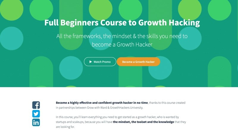 GrowthHackers – Full Beginners Course