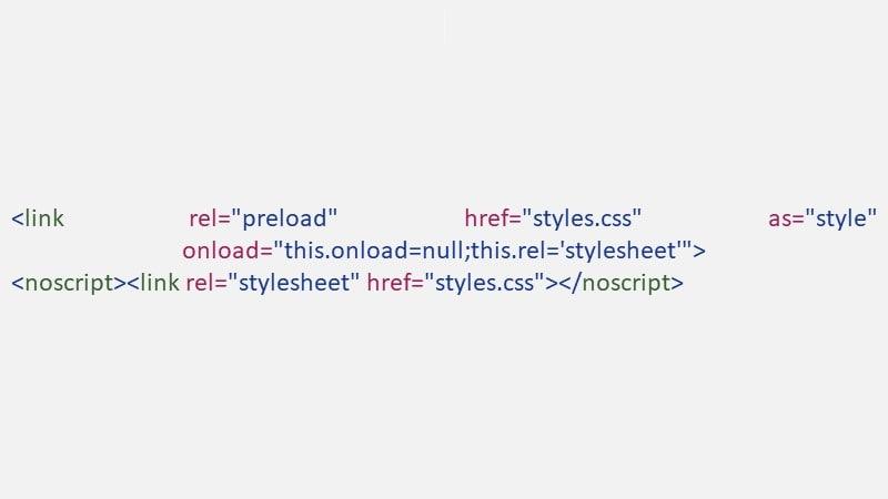 چگونه CSSهای غیر مهم را defer کنیم؟