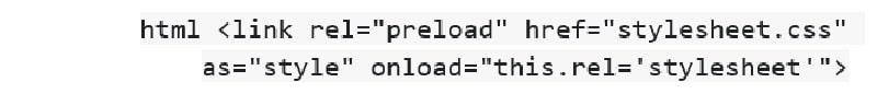 CSS های غیرضروری را به تأخیر بیاندازید
