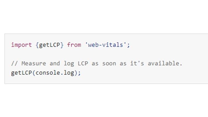 اندازهگیری LCP در جاوا اسکریپت