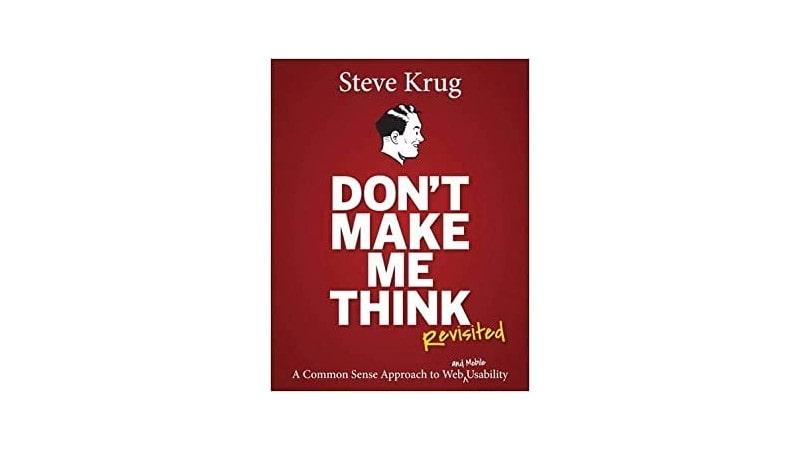 Don't make me think نوشته Steve Krug